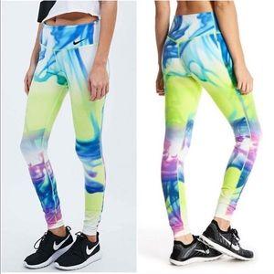 Nike Dri fit legendary lava tie dye leggings xs